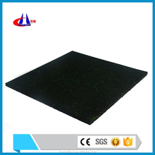 Factory cheap rubber flooring for gym with EPDM particles