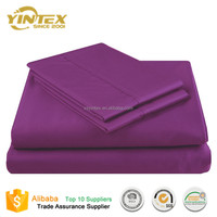 400 TC Solid Color High Quality China Supplier Fancy Bed Sheets Bedding sets for Hotel/Home