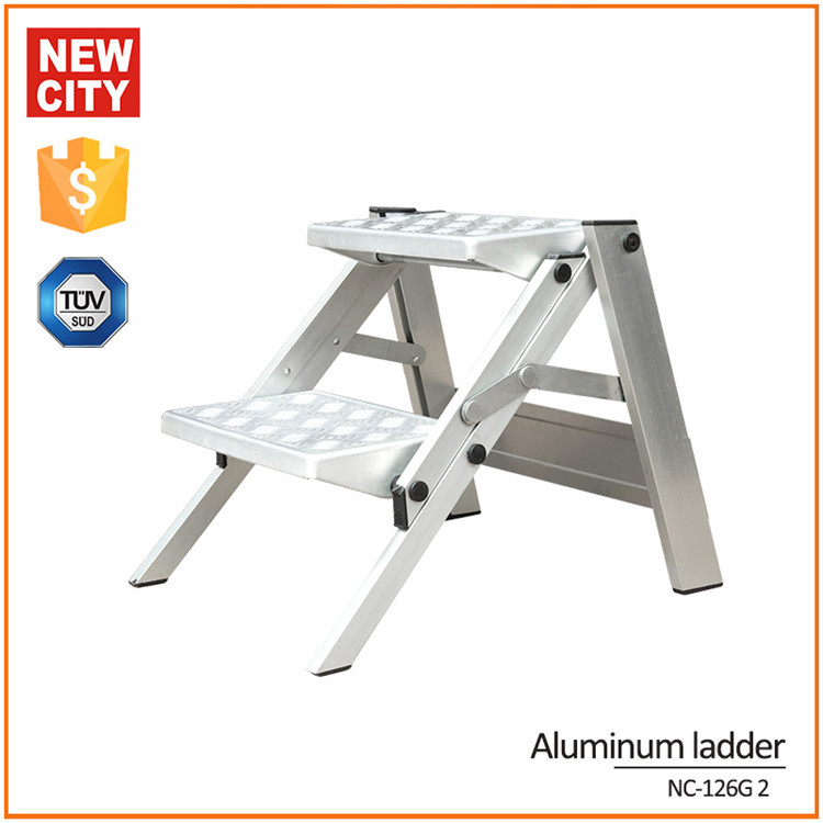 Astounding New City Kitchen Lightweight Aluminium Ladder Portable Ladder Buy Aluminium Ladder Portable Ladder Aluminium Cat Ladder Aluminum Folding Step Stool Onthecornerstone Fun Painted Chair Ideas Images Onthecornerstoneorg