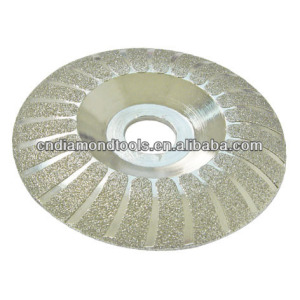 Electroplated diamond wheel glass cutter