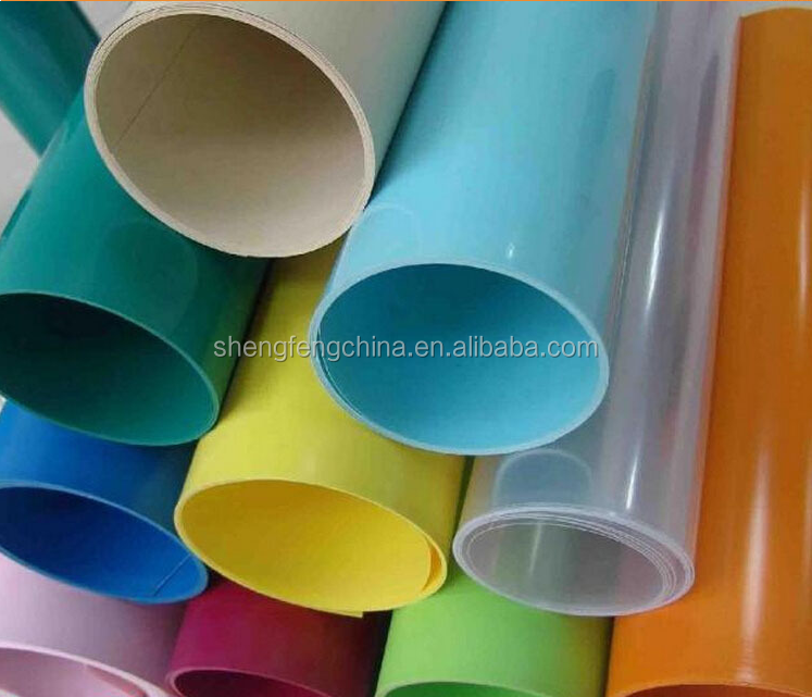 Customized PP/PVC/PET multifunction hard plastic sheet rolls