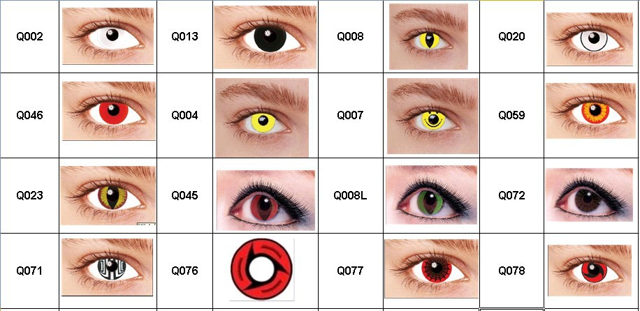 Eye Contacts Colors White Www Pixshark Com Images