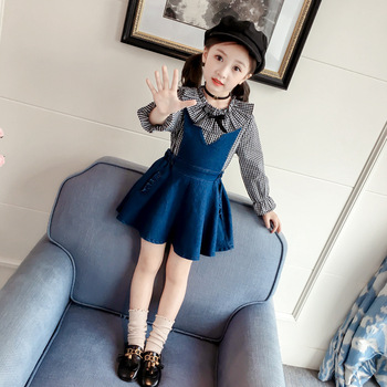 6cd4a80be Fashion Blue jean dress for girl beautiful jean dresses for girls short denim  jean dress