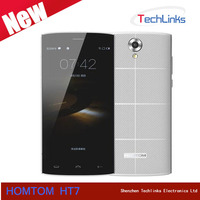 2016 Latest Unlocked HOMTOM HT7 MTK6580A Quad Core 1GB 8GB Dual SIM 8MP Camera HD 1280*720P GPS 3G Android 5.1 Smart Cell Phone