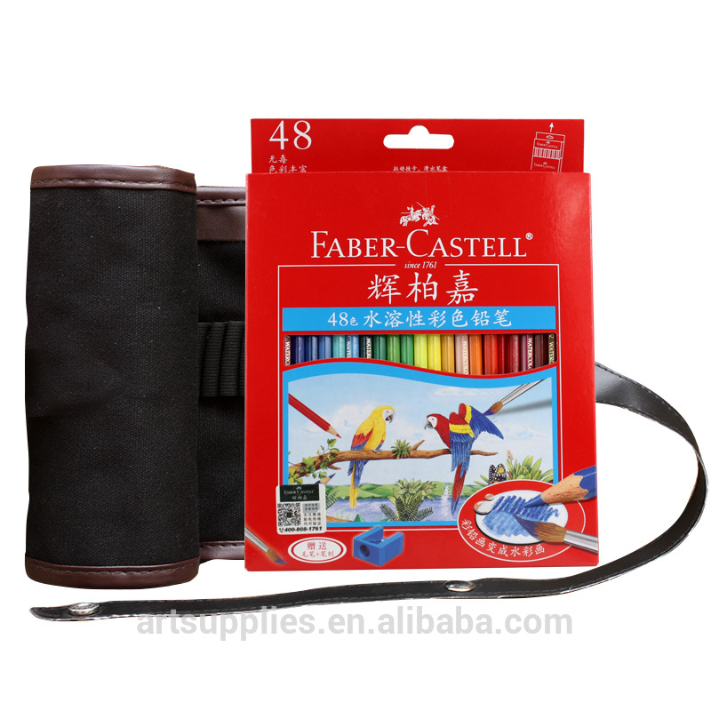 48 colored sketching pencils drawing set + pencil bag