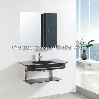 Glazen Badkamer Wastafel Onderkast 7048 - Buy Glas Badkamermeubel ...