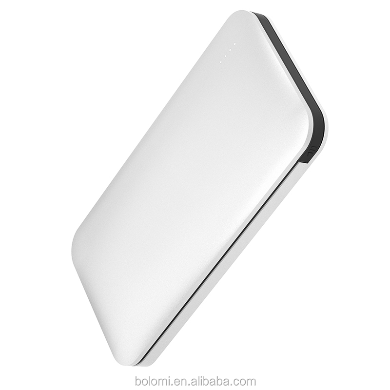 Trending hot products own logo 8000mah power bank Ultra-thin