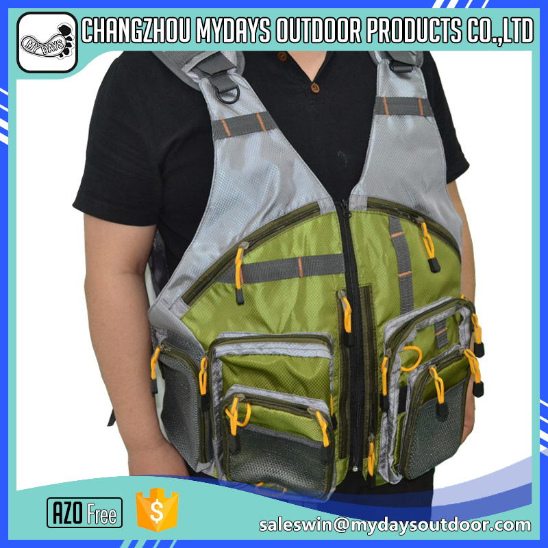 Quality best selling mesh vest fashion <strong>fishing</strong> with pocket