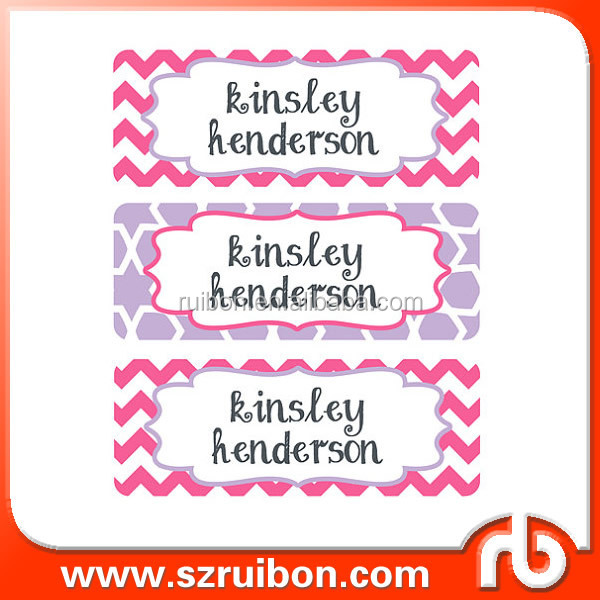 Waterproof Name Labels, Baby Bottle Name Labels