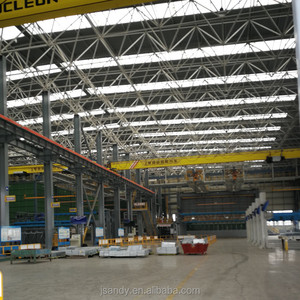 New Design Style Prefab Steel Structure Building Space Frame Roof Metal Roof Factory /Workshop/Plant