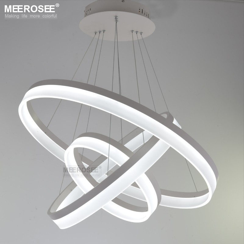 LED Acrylic Ring Light Modern Suspension Lamp MD5060-3R