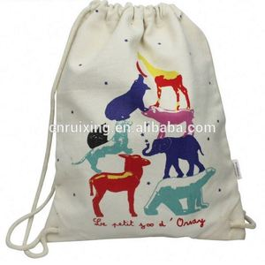 High end excellent quality promotional colorful canvas bag
