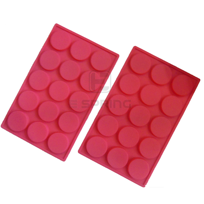 Customizable 15 Drops Round Silicone Waffle Cake Making Tools
