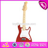 Best sale classical wooden toy electric guitar for children W07H014-S