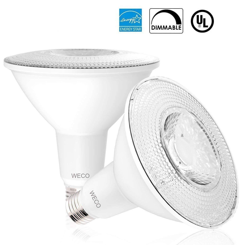 LED Bulb PAR38 Lighting 13 WATT (120W Equivalent), 2700K Soft Light DIMMABLE 1050 Lumens UL & Energy Star Listed (2700 K - Soft White, 2 Pack)