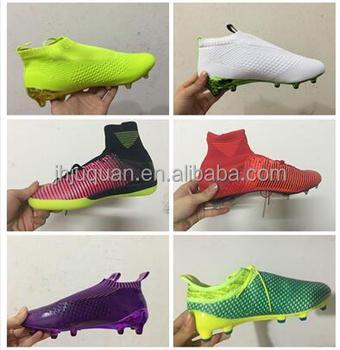4cf03cf735d13 2015 mejor venta de fútbol zapatos el más nuevo estilo de diseño más  popular al aire