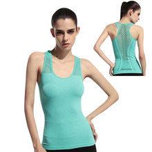 YOUME Women Yoga Shirts Tops Women Fitness Sports Woman Gym Clothes Sport Shirt For Gym Running Mujer Running Shirt Female