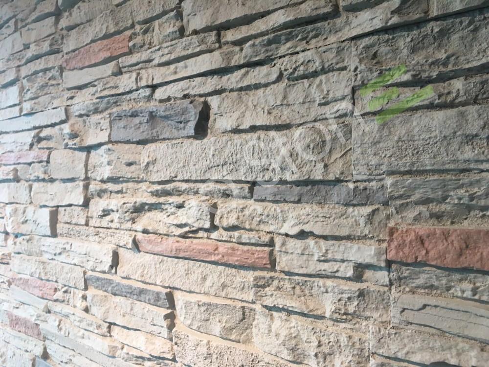 paneles de espuma de ladrillo de piedra de paredes exteriores