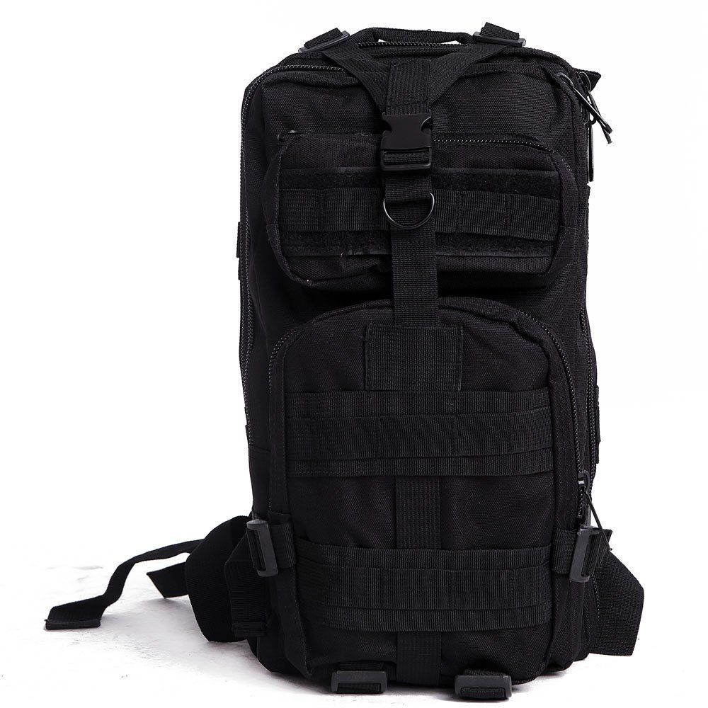 Get Quotations · L-Peach 24L 600D Nylon Outdoor Tactical Waterproof Molle  Backpack Military Rucksacks Multifunctional Tactical Assault be493080b9180