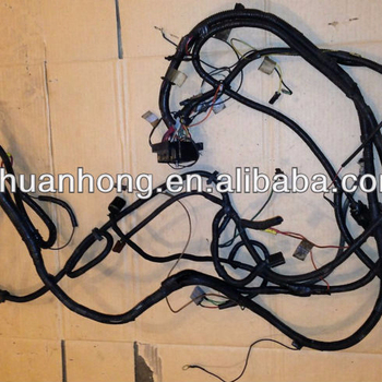 For Jeep Cj5 Cj7 Wiring Harness Motor N Headlights 258 6 Cylinder Wire Jeep Cj Engine Wiring Harness on