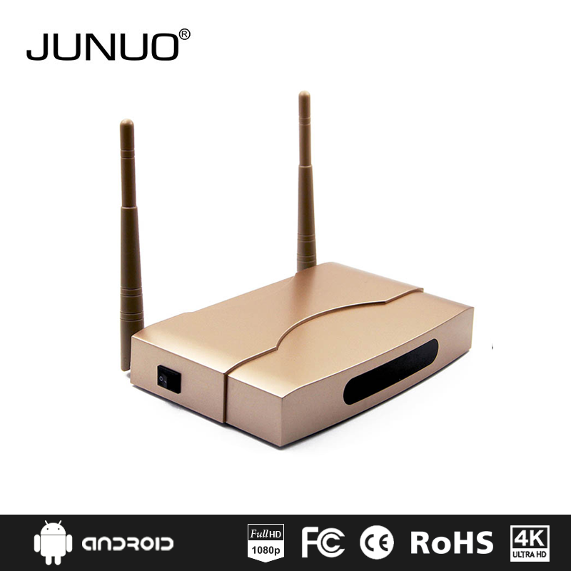 JUNUO high quality OEM google play store app download android smart tv converter box