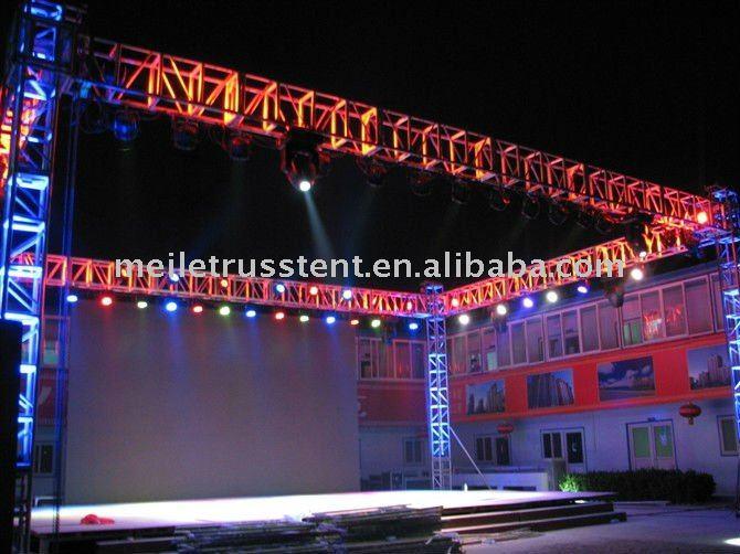 Stage TrussLight Hanging Aluminum TrussExhibition Truss