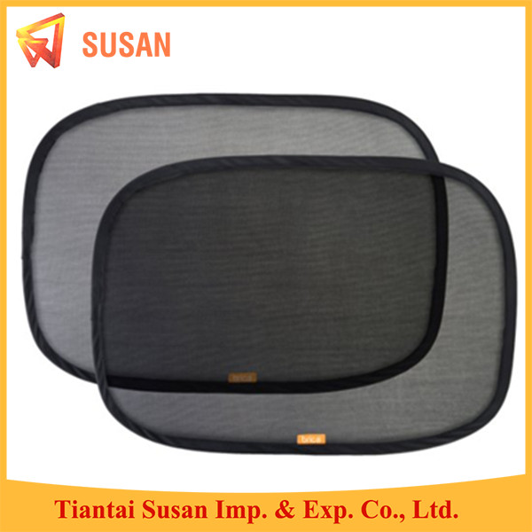 black mesh PVC FILM car static cling sunshade side sun shade