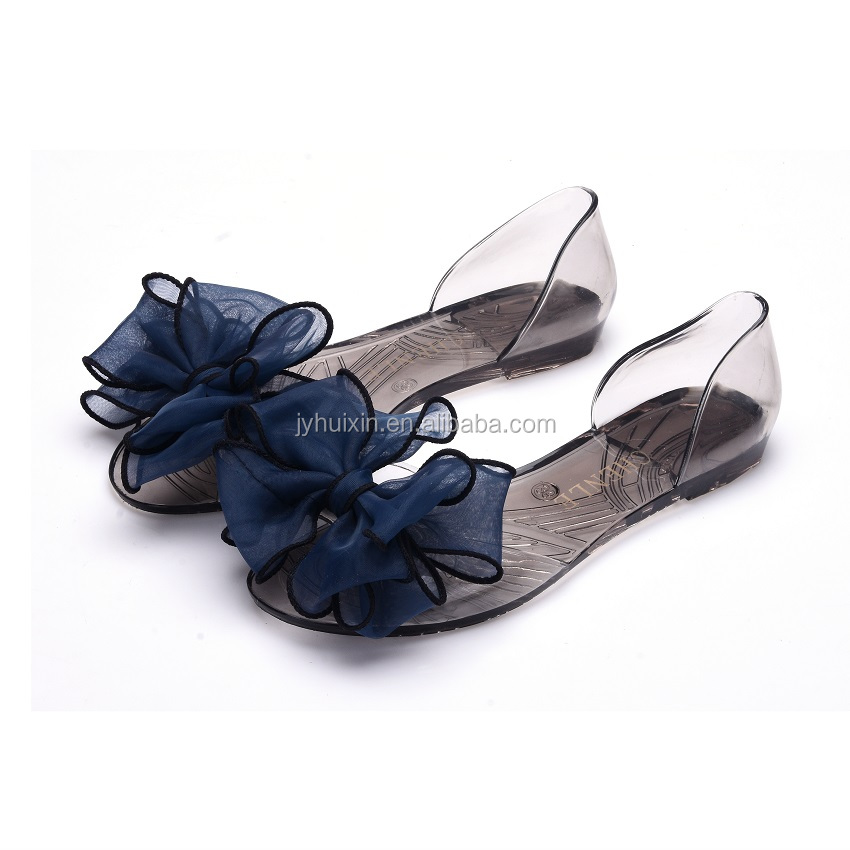 Fancy Decoration Cheap Price Sandal Shoes For Women Safety Sandals PVC jelly Shoes