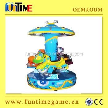 Funtime Facotry Que Funcionan Con Monedas Ninos Mini Tiovivo 3