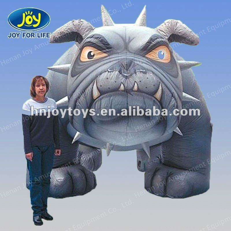 2012 lovely giant inflatable bulldog