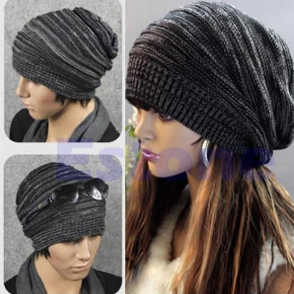 Wholesale N94 New Unisex Mens Womens Knit Baggy Beanie Beret Hat ... 1657e3b004e