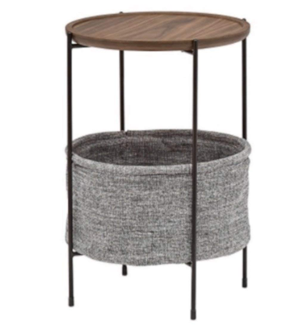 Delightful Get Quotations · Slim End Table Living Room Narrow Patio Bedroom Tall Side  Sofa Coffee Round High Modern Basket
