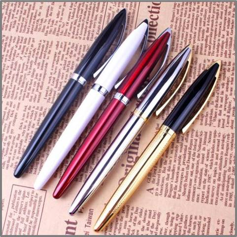 wholesale promotional personalized mental ball pen with logo advertising