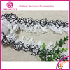 Garment Accessories Embroidery Lace Elastic Lace Trim For Decoration