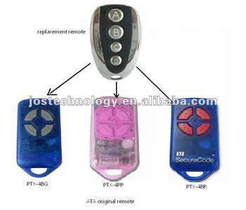 Ata Ptx 4 Blue Pink Garage Gate Remote Control Ata