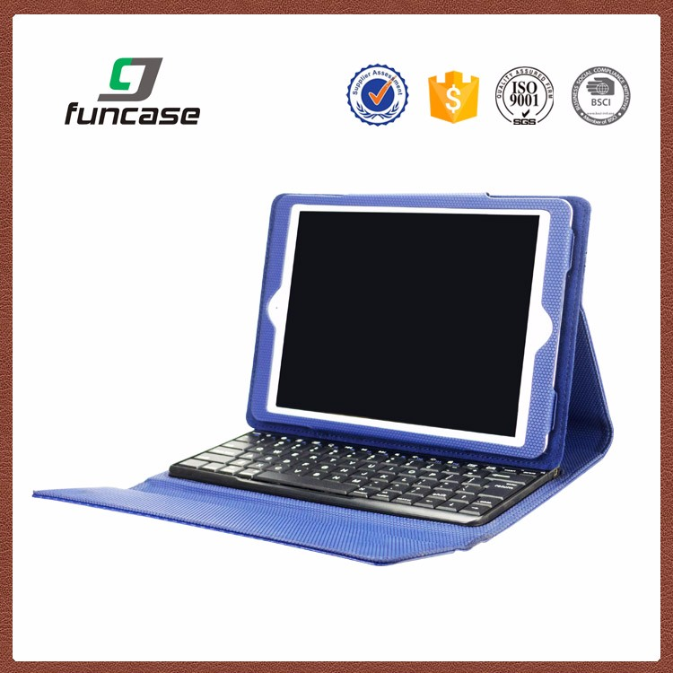 China OEM design leather keyboard case 12 inch tablet anti-shock flip cover tablet case