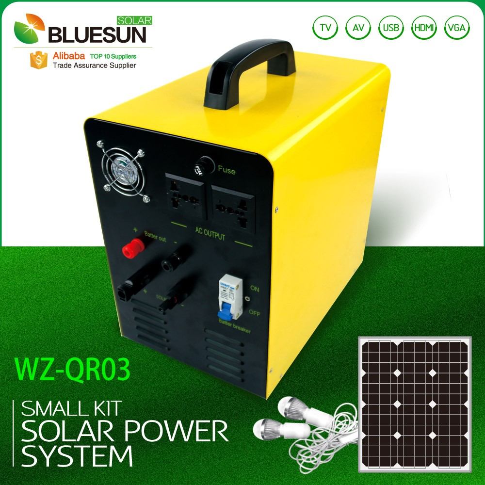 Home use portable solar panels for electricity small system with high quality