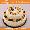 High quality hot sale cheap bakery window display beautiful double fruit birthday cake model fake cake