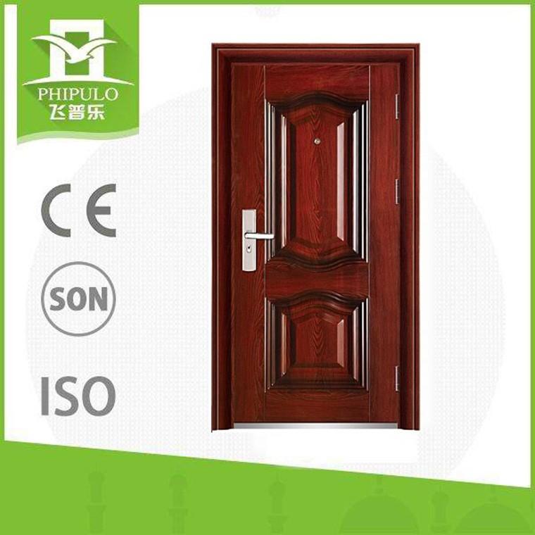 2016Front Single Main Safety Door Designs from yongkang