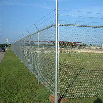 High Quality 5 Foot Galvanized Chain Link Fence Sports For