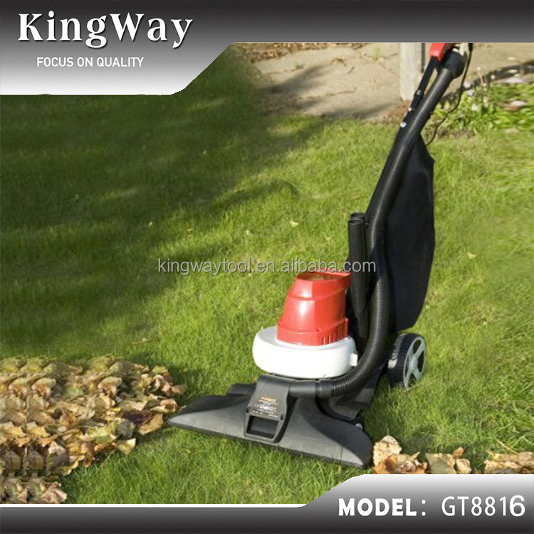 1600W 3 in 1 Blower Vac and Shredder with a 25-litre Collection Bag leaf blower