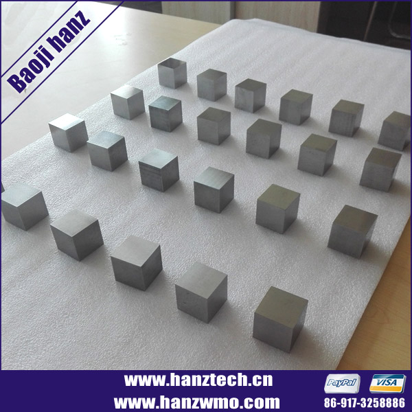 YG8/YG15 Tungsten carbide square block/tungsten carbide cube