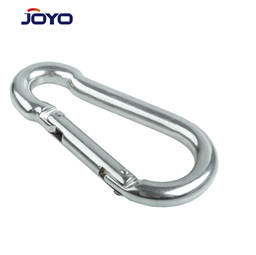Produsen Cina Ss304 atau Ss316 Carabiner Din5299C Stainless Steel Spring Snap Hook