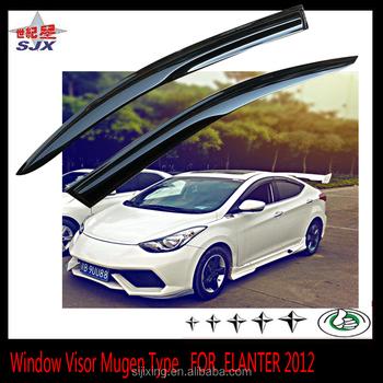 Customize Window Visor For Hyundai Elantra 2012 Mould