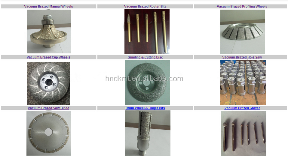Full Automatic Marble And Granite Edge Profiling Wheel