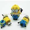 HOT !! USB flash disk USB2.0 Flash Drive Memory Stick Dispicable me U-Disk Flash Memory Stick Drive 128MB-32GB