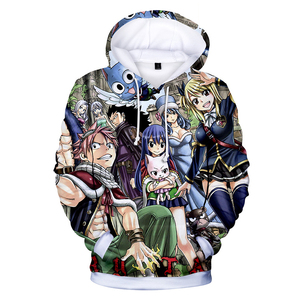 Fairy Tail Xxxxl Hoodie Dropshipping New 2019 Hot Selling Mens Hoodies Hoodies 3D Print Street Wear Pullover