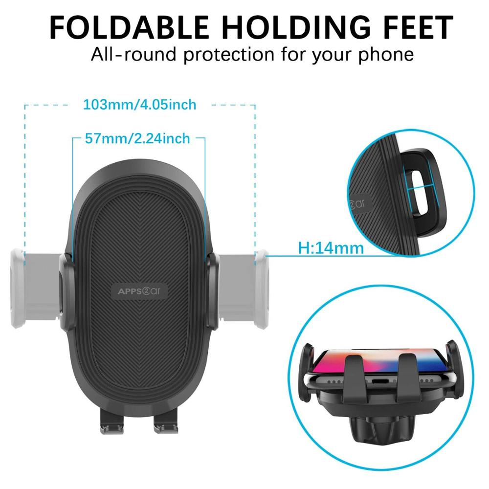 Promotional gifts wholesale suction cup car holder mobile stand car phone mount for 3.5-5.5 inch smartphone