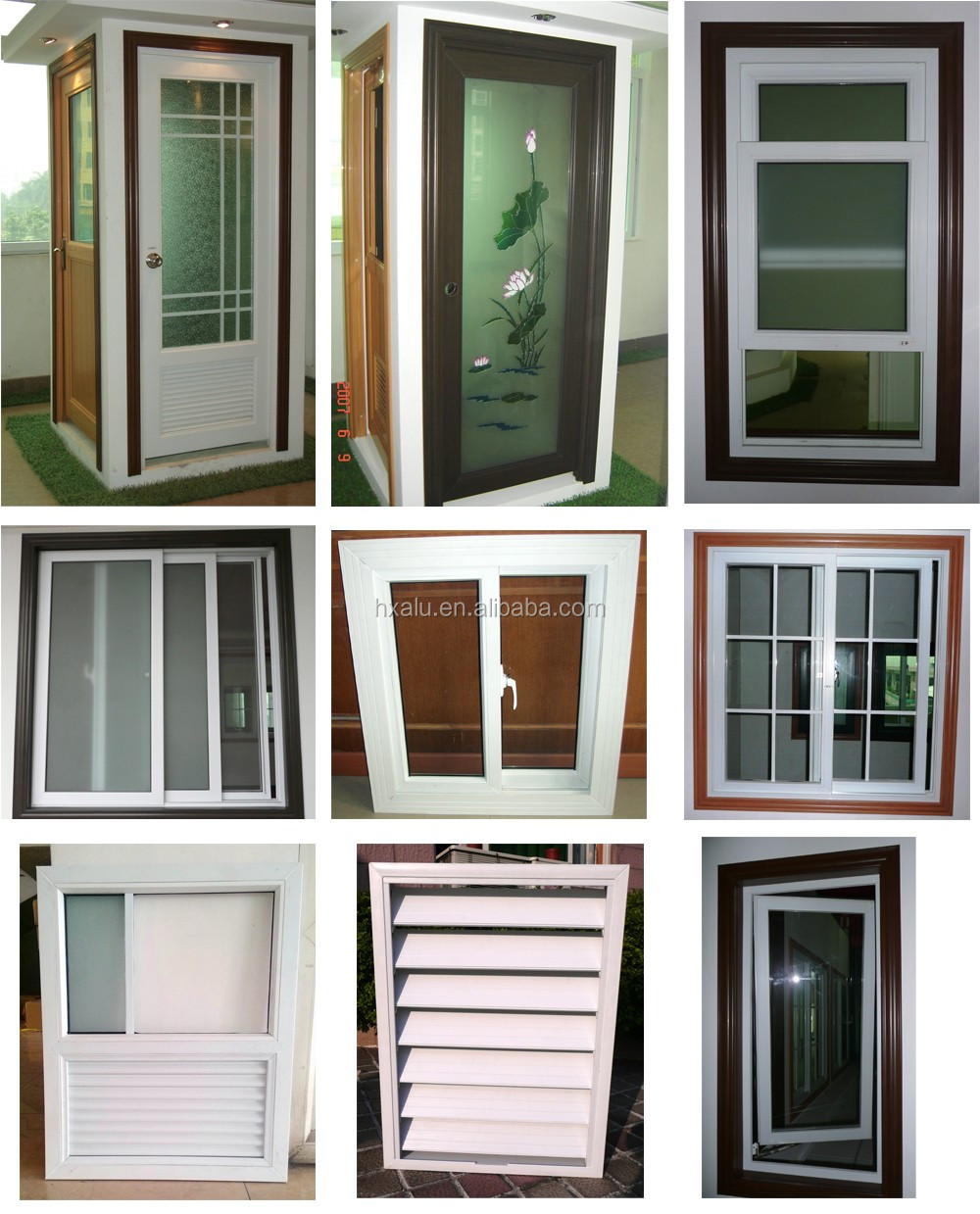 Pvc Windows And Doors : Wholesale white color upvc profile for pvc window and door