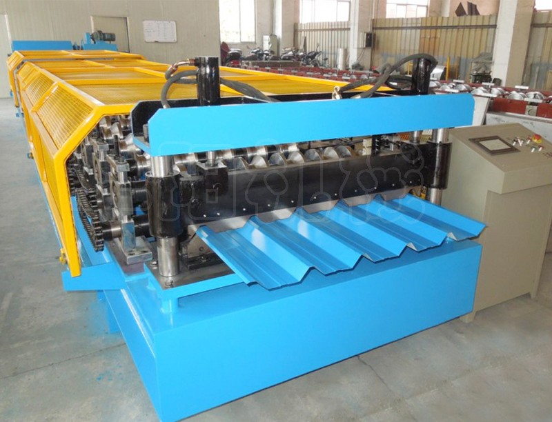 European Standard Standing Seam Metal Roof Panel Roll Forming Machine China  Supplier With High Quality